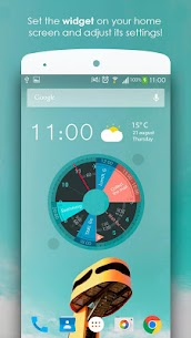 Sectograph. Planner & Time manager on clock widget Pro v5.7.2 Cracked APK 2