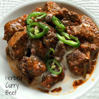 Herbed Beef Curry