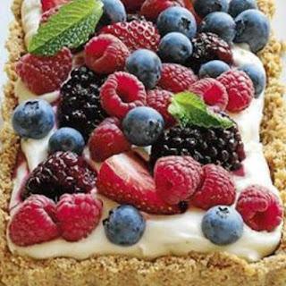 Berry Mascarpone Tart.