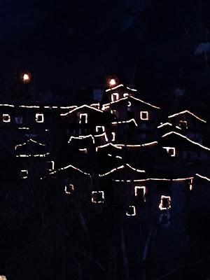 Scilironi - paesino montano by night di Laucol