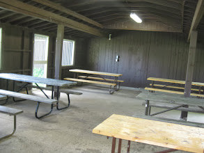Photo: West Shelter interior