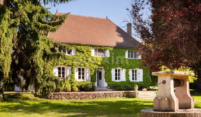 Propriété avec jardin Pontoux