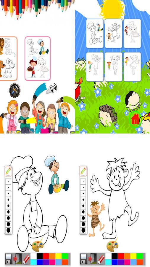 kids drawing color book free screenshot