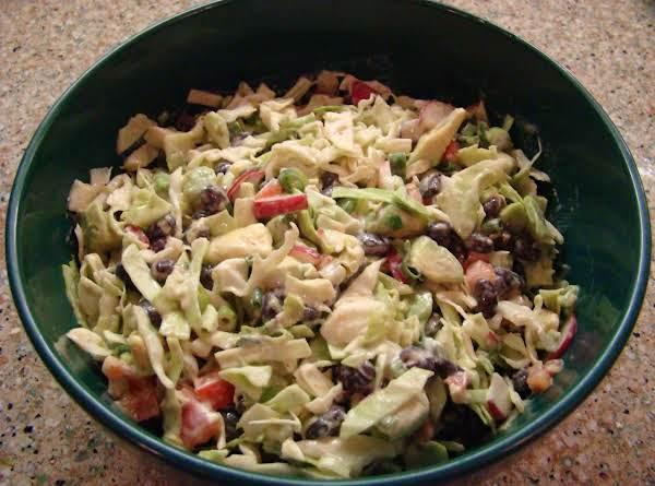 Chipotle Black Bean And Avocado Coleslaw Recipe