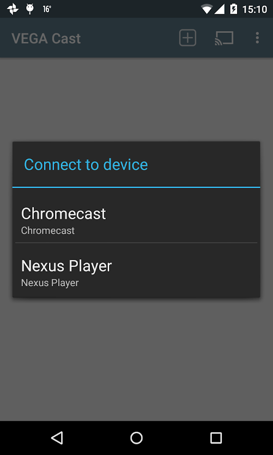 VEGA Cast (for Chromecast)- screenshot
