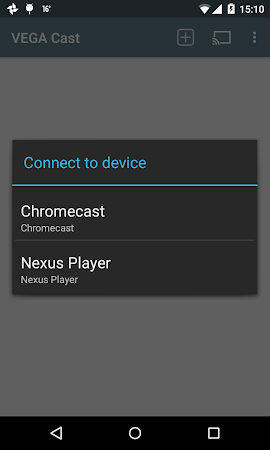 VEGA Cast (for Chromecast) 0.6.2 screenshot 218374