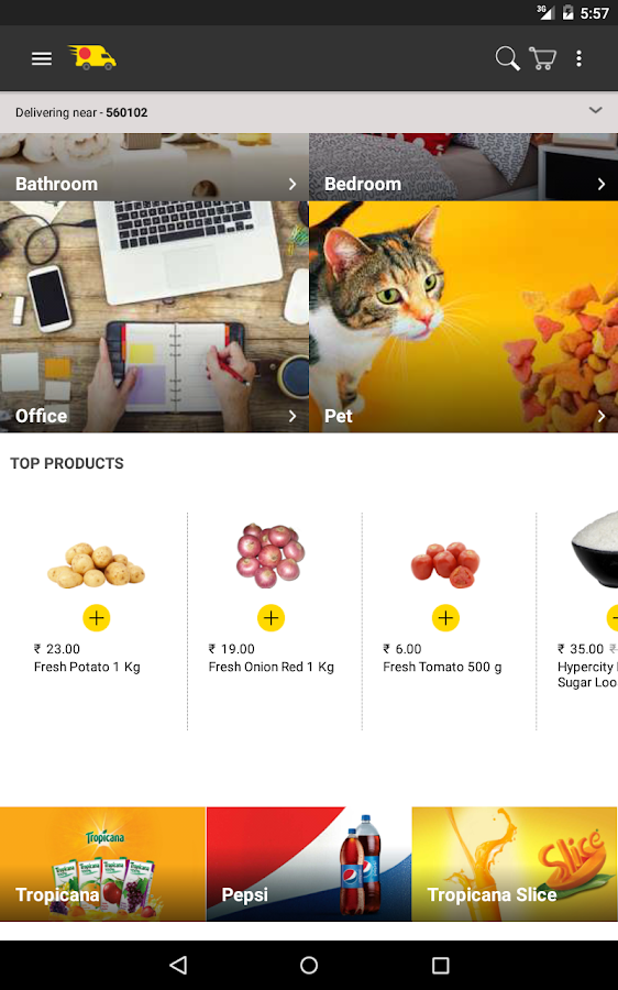 ZopNow - Grocery Shopping- screenshot