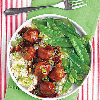 Tangy Asian Meatballs.