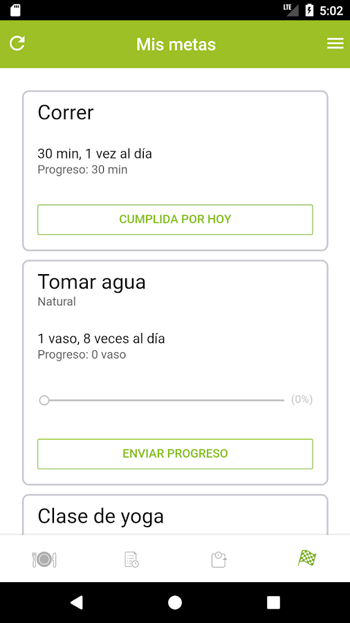 Mis Consultas Eat Smart Apps: captura de pantalla