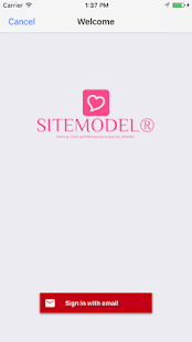SITEMODEL® Agency Social Network- screenshot thumbnail