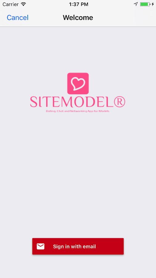 SITEMODEL® Agency Social Network- screenshot