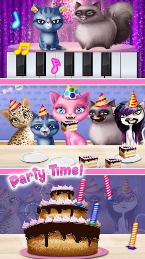 Cat Hair Salon Birthday Party - Virtual Kitty Care 6.0.20 screenshots 7
