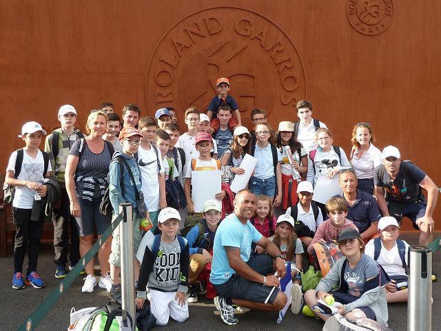17/06/2018 - Une fabuleuse journée à Roland Garros !
