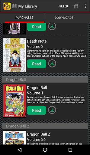 Shonen Jump Manga & Comics 4.1.4 Screenshots 4