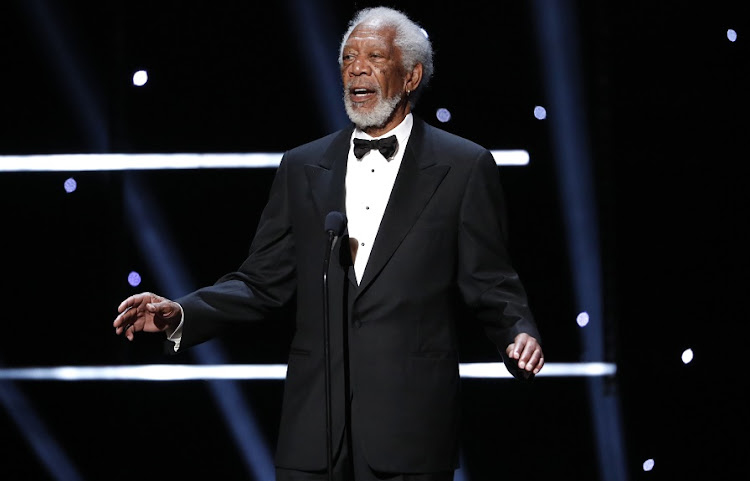 Morgan Freeman has spoken out against conspiracy theories.