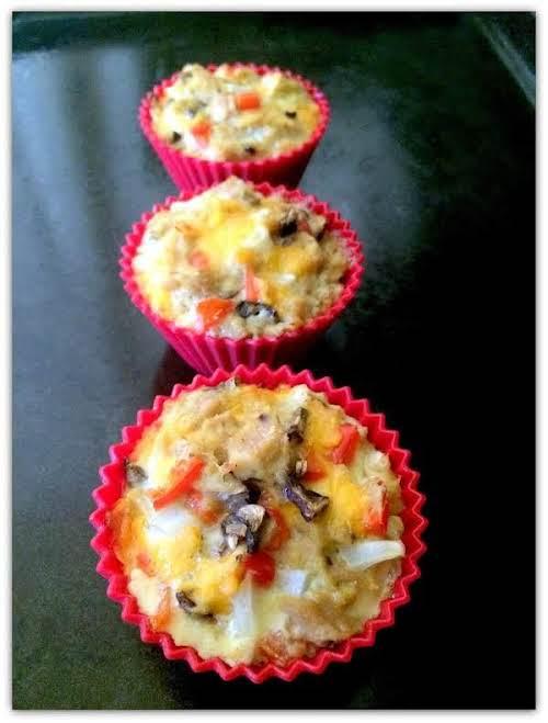 "Albacore Tuna Muffins ""These tuna muffins make for a wonderful light lunch..."