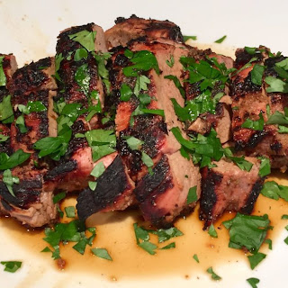 Jamaican Jerk Pork Tenderloin.