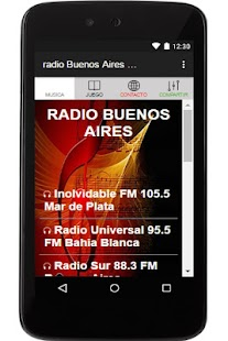radio Buenos Aires Argentina - náhled