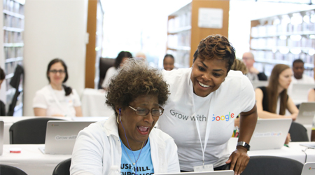 Grow with Google is coming to a library near you