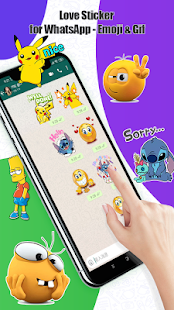 Download Love Sticker for WhatsApp - Emoji & Gif For PC Windows and Mac apk screenshot 3