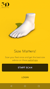 3Daboutme Footscanner - Virtual Fit by 3D aboutme- screenshot thumbnail