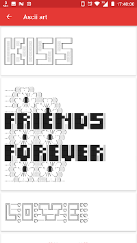 cool copy and paste text art pictures