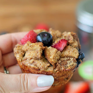 Berry French Toast Muffins.