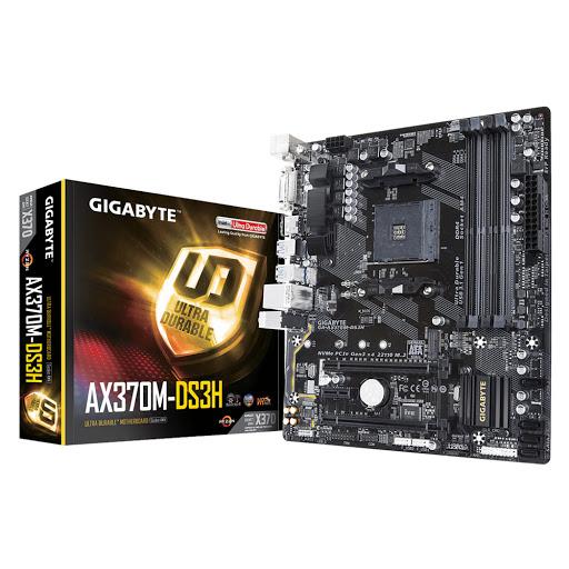 Bo mạch chính/ Mainboard Gigabyte AX370M-DS3H