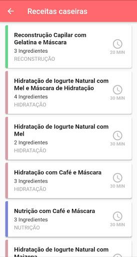 Diário Capilar 1.0.3 screenshots 2