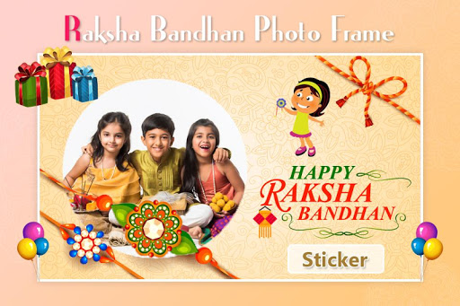 Rakshabandhan Photo Frame : Rakhi photo Editor 1.1 screenshots 4