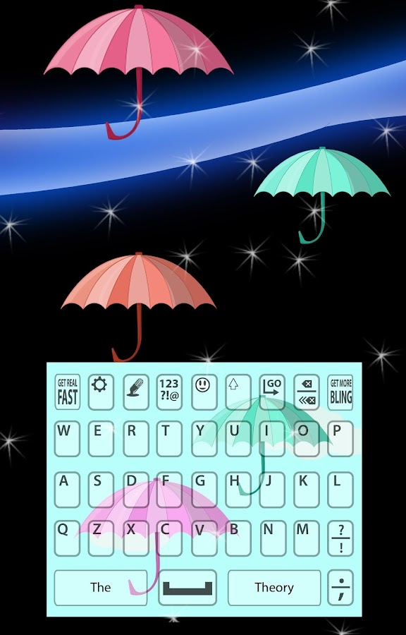 Keyboard Background- screenshot