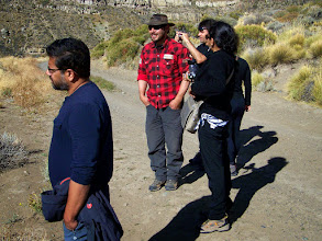 Photo: Our guide for the Estancia tour is in red - never caught his name!