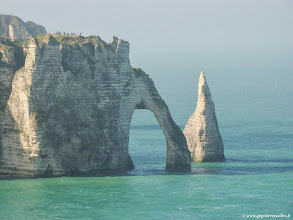 Photo: #003-Etretat, la Porte de l'Aval et l'Aiguille.