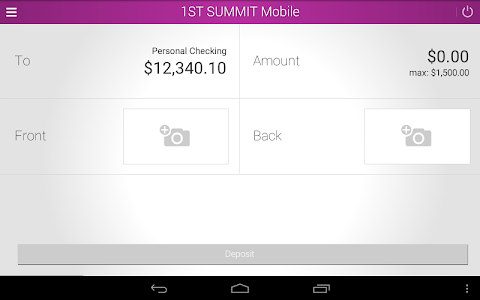 1ST SUMMIT BANK screenshot 9