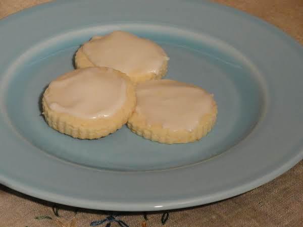 Orange Butter Cookies Recipe