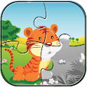 Animal Puzzles Jigsaw for kids icon