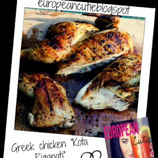 "Greek chicken ""Kota Riganati"" with traditional marinade ♥"