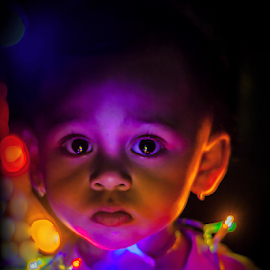 Playing Colors by Kriswanto Ginting's - Babies & Children Child Portraits