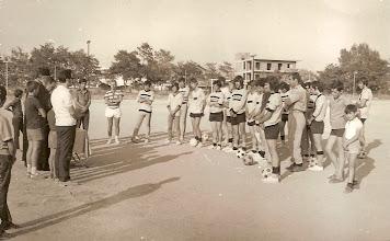 Photo: 1973-74 AEK Β' Κατηγορία ΕΠΣ ΒΔΜ - Αγιασμός