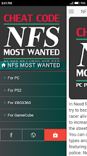 Cheat Code For Nfs Need For Speed Most Wanted Game Stahuj Cz