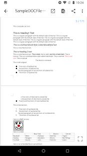 N Docs - Office, Pdf, Text, Markup, Ebook Reader Screenshot