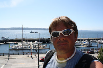 Photo: Me my boat and Elliot Bay