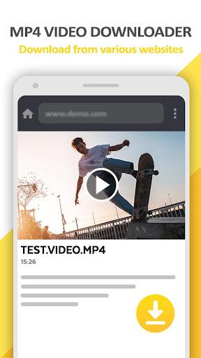 Mp4 Video Downloader - Video locker screenshots 1