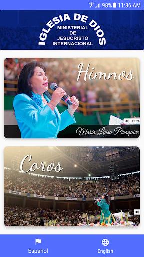 Screenshot for Himnario IDMJI Coros e Himnos in Hong Kong Play Store