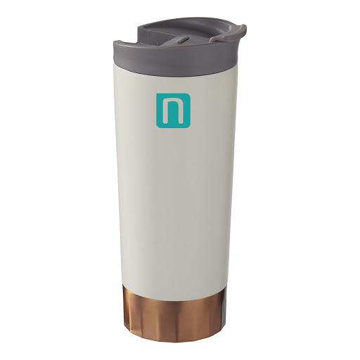 Copper Vacuum Tumbler Black 500ml