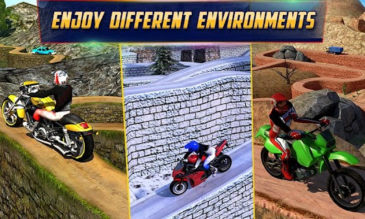Crazy Offroad Hill Biker 3D screenshot 01