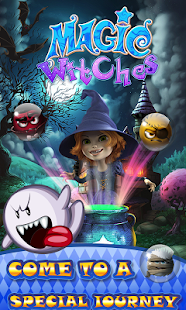 Happy Magic Witch - Halloween Game- screenshot thumbnail