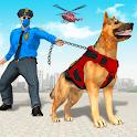 US Police Dog: Bank Robbery Crime Shooting Game icon