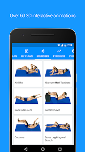 Appdominals Six Pack ABS in 3D- screenshot thumbnail