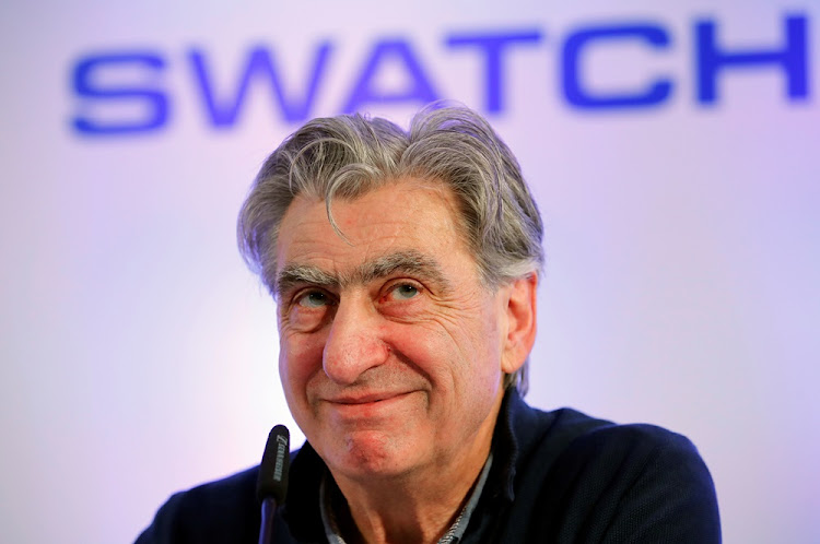 Swatch Group CE Nick Hayek. Picture: REUTERS